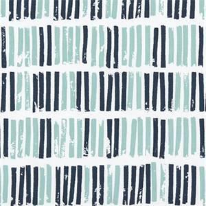 Aspen Vintage Indigo Canal Printed Cotton Drapery Fabric by Premier Print Fabrics 30 Yard Bolt
