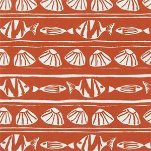 Caicos Orange Indoor/Outdoor Fabric by Premier Print Fabrics 30 Yard Bolt