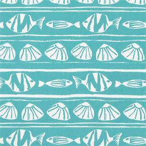 Caicos Ocean Indoor/Outdoor Fabric by Premier Print Fabrics 30 Yard Bolt