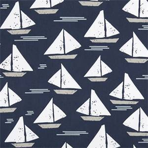 Cape May Vintage Indigo Drapery Cotton Print by Premier Print Fabrics 30 Yard Bolt