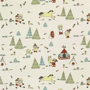 Cowboys And Friends Formica Macon Cotton Drapery Print by Premier Print Fabrics 30 Yard Bolt