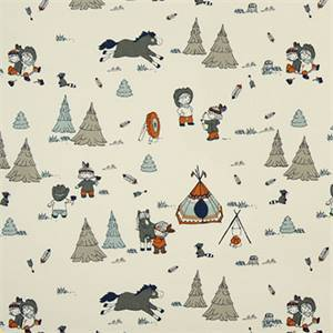 Cowboys And Friends Maya Macon Cotton Drapery Print by Premier Print Fabrics 30 Yard Bolt