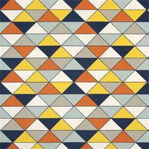 Dimensions Maya Macon Printed Cotton Drapery Fabric by Premier Print Fabrics 30 Yard Bolt
