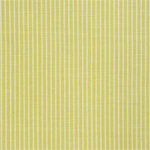 Upstate Stripe Canary Linen Blend Fabric