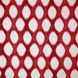 Brissac Cherry Diamond Pintuck Ikat Fabric by Swavelle Millcreek