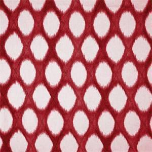Brissac Cherry Diamond Pintuck Ikat Fabric by Swavelle Millcreek