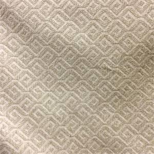 Framework Oyster Greek Key Chenille Upholstery Fabric By Swavelle