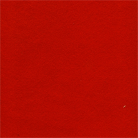 FT0004 Red Craft Felt Fabric - 20 Yard Bolt