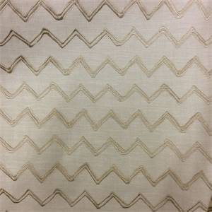 Swagger Dune Embroidered Chevron Fabric by Swavelle Millcreek