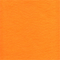 FT0029 Orange Craft Felt Fabric - 20 Yard Bolt