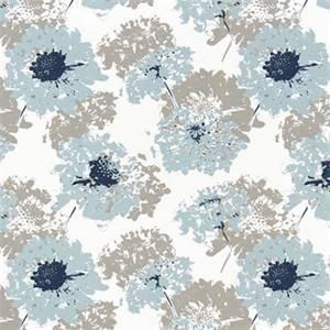 Fairy Spa Blue Printed Cotton Drapery Fabric by Premier Print Fabrics 30 Yard Bolt