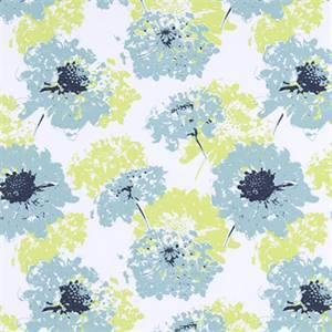 Fairy Vintage Indigo Canal Printed Cotton Drapery Fabric by Premier Print Fabrics 30 Yard Bolt