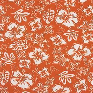 Hibiscus Monarch Cotton Drapery Fabric by Premier Print Fabrics 30 Yard Bolt