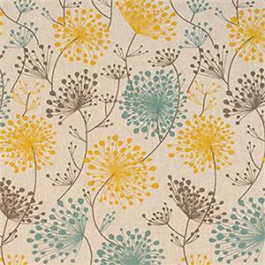 Irish Daisy Collins Laken Drapery Fabric by Premier Print Fabrics 30 Yard Bolt