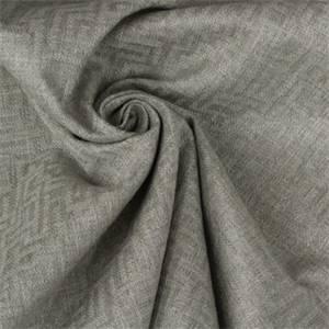 Greek Key Patterned Upholstery in Color Natural Grey 13SESGG