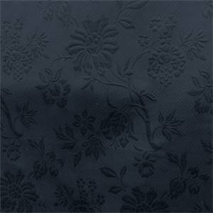 Matelasse Floral Upholstery Fabric in Blue