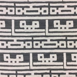 Grey Geometric Fabric Modern Geometric Upholstery Fabric