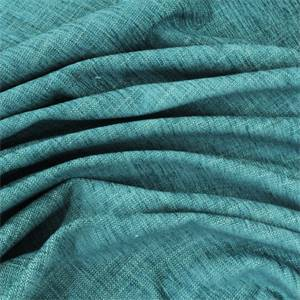 Furrow Chenille Upholstery Fabric Color Breeze Aqua Blue