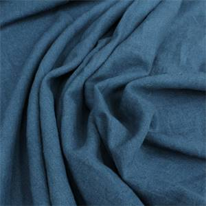 Easy Does It Linen Drapery Fabric Color Midnight Blue