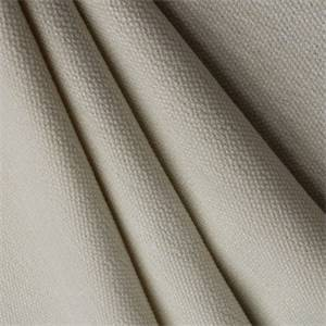 Tanzania Linnen Look Drapery Fabric Color Snow White