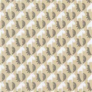 Moose Tracks Camel Cotton Drapery Fabric by Premier Print Fabrics 30 Yard Bolt