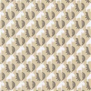 Moose Tracks Camel Cotton Drapery Fabric by Premier Print Fabrics 30 Yard Bolt