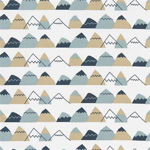 Mountain High Awendela Cotton Drapery Fabric by Premier Print Fabrics