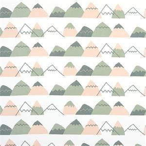 Mountain High Sundown Cotton Drapery Fabric by Premier Print Fabrics 30 Yard Bolt