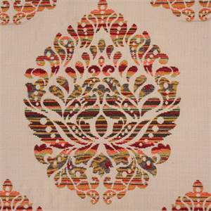 Maui Multi Damask Upholstery Fabric by Hamilton