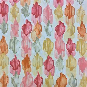 Spot On Cantaloupe Drapery Fabric