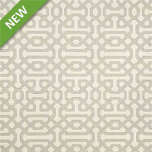 Fretwork Pewter 45991-0002 by Sunbrella Fabrics