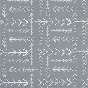 Native Sundown Grey Cotton Drapery Fabric by Premier Print Fabrics 30 Yard Bolt
