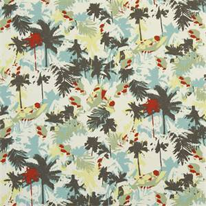 Palms Formica Macon Cotton Drapery Print by Premier Print Fabrics 30 Yard Bolt