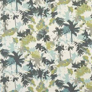 Palms Felix Natural Cotton Drapery Fabric by Premier Print Fabrics 30 Yard Bolt