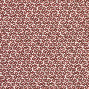 Pixie Formica Red Macon Cotton Drapery Fabric by Premier Print Fabrics 30 Yard Bolt