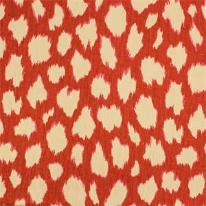 Splash Ikat Dot Red