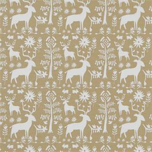 Promised Land Camel Cotton Drapery Print by Premier Print Fabrics 30 Yard Bolt