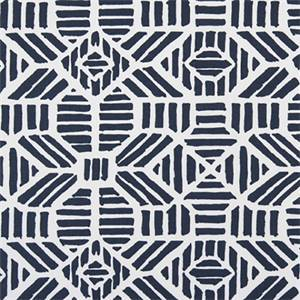 RIBBLE VINTAGE INDIGO COTTON DRAPERY FABRIC BY PREMIER PRINT FABRICS 30 YARD BOLT