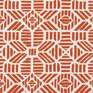 RIBBLE ORANGE INDOOR/OUTDOOR FABRIC BY PREMIER PRINT FABRICS 30 YARD BOLT