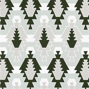 SEQUOIA ARTICHOKE JUNIPER COTTON DRAPERY FABRIC BY PREMIER PRINT FABRICS 30 YARD BOLT