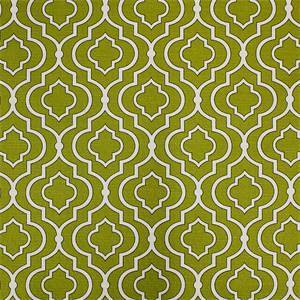 Donetta Sussex Sprout Contemporary Geo Cotton Drapery Fabric by Swavelle Mill Creek
