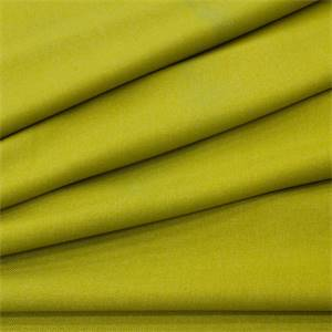 Thompson Peridot Green Solid Polyester Twill Drapery Fabric