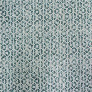 Kravet Tribal Spa Blue Dot Print Linen Fabric