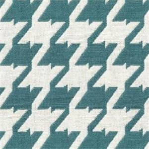 Bohemian 30 Seabreeze Blue Houndstooth Upholstery Fabric - Order a 12 Yard Bolt