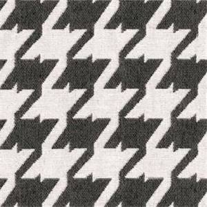 Bohemian 9006 Pewter Grey Houndstooth Upholstery Fabric - Order a 12 Yard Bolt