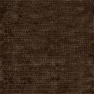Royal 8009 Deep Brown Chenille Solid Upholstery Fabric - Order a 12 Yard Bolt