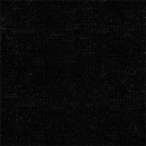 Royal 9009 Black Chenille Solid Upholstery Fabric - Order a 12 Yard Bolt