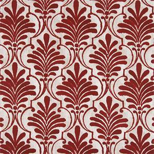 Outdoor Ecuador Sangria Luxe Polyester Fabric by Premier Prints