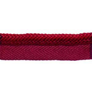 "MS 300 36 Cranberry 0.375"" Lip Cord 27.5 Yard Reel"