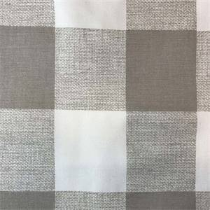 Anderson Ecru Check Drapery Fabric by Premier Prints 30 Yard Bolt